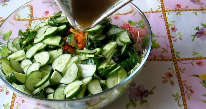 заливка для салата