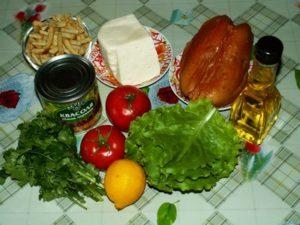 грудка копченая продукты