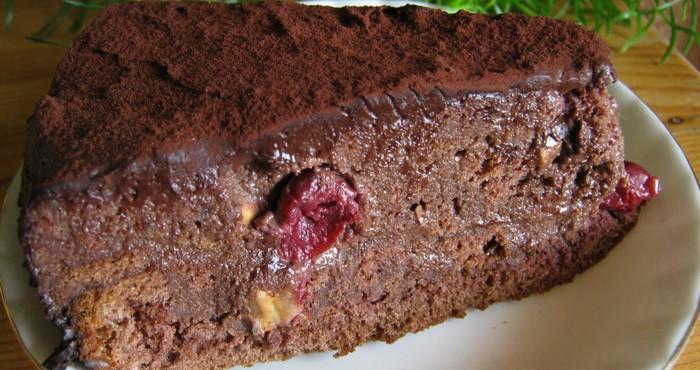 Торт пьяная вишня классический рецепт пошагово