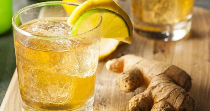 Как сделать напиток с имбиря
