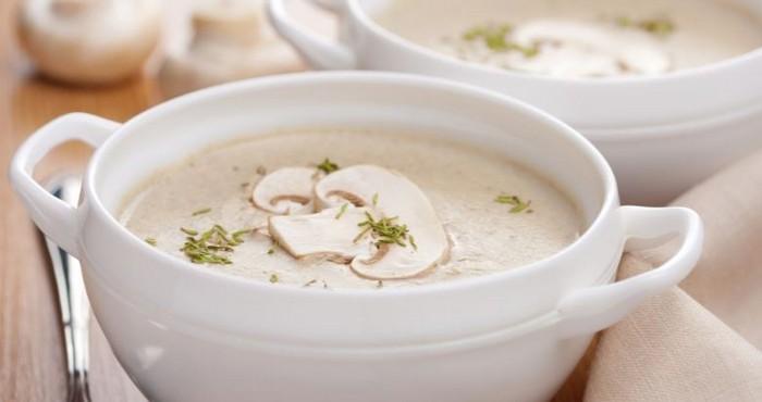 Крем суп с добавлением риса