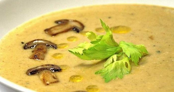 Суп грибной с сухими грибами с фото пошагово