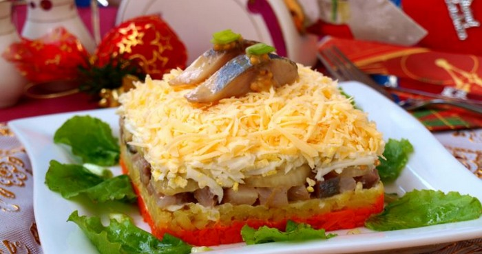 Немного об общих принципах приготовления салатов