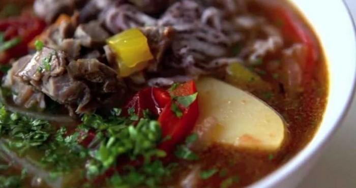 Шурпа из говядины по-армянски