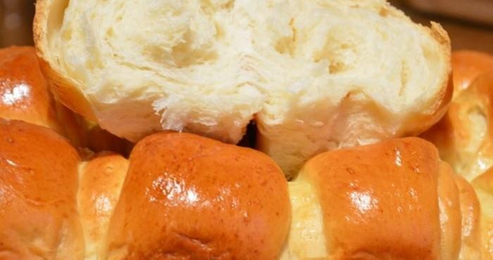 Тесто для булочек на молоке со сливочным маслом