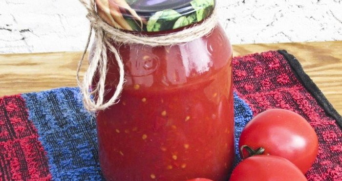 Как сделать кетчуп из томатной 177