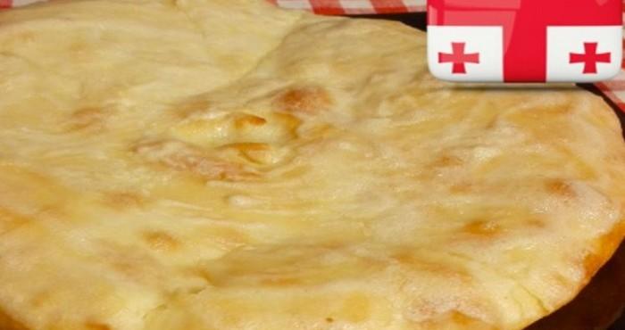 Грузинские хачапури с сыром
