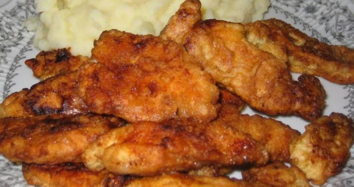 Куриное филе в кляре в духовке