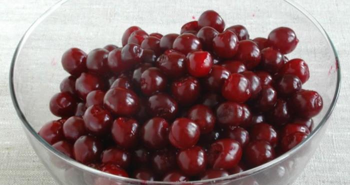 очищенные плоды