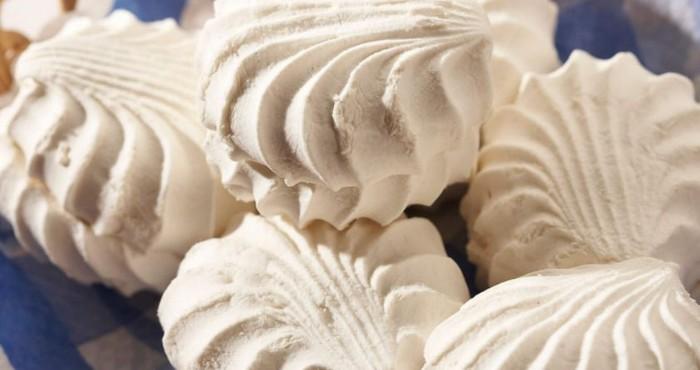 Домашний зефир с выпеканием на основе желатина