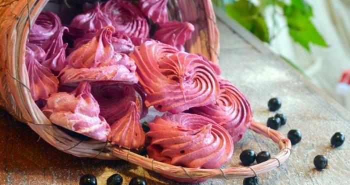 Домашний зефир из ягод