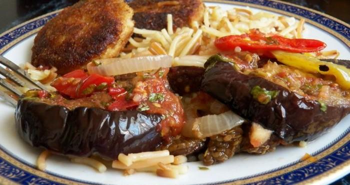 обжаренные овощи на гарнир