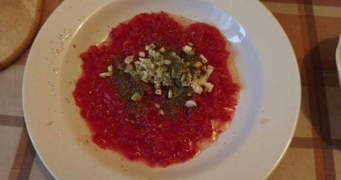 ароматная помидорная заливка