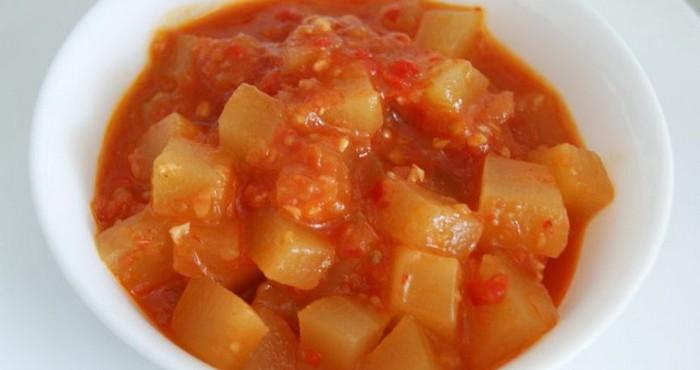 заготовка с кетчупом чили