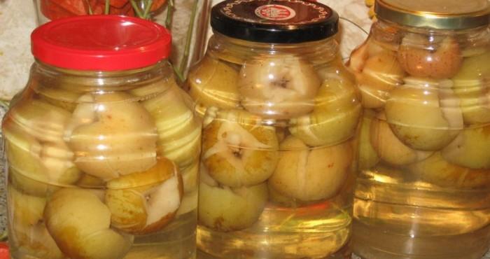 вкусный яблочный компот