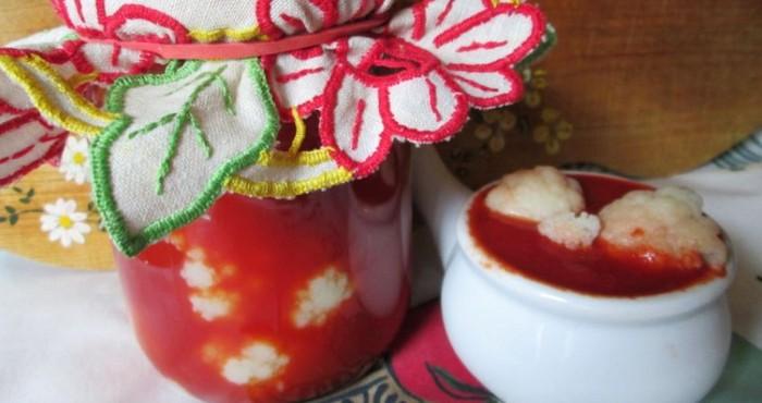 овощная закладка с томатом