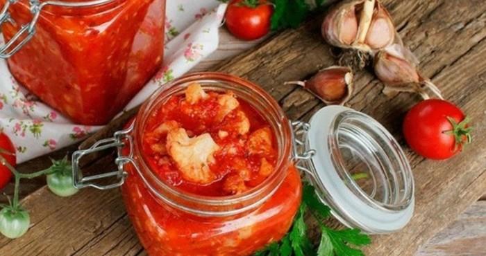 овощное ассорти с помидорами