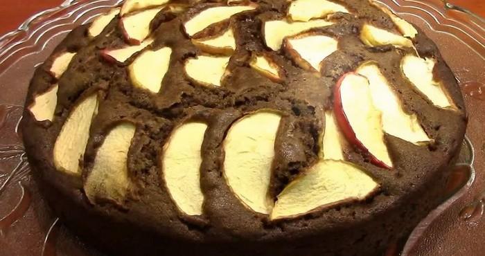 шоколадный десерт в микроволновке