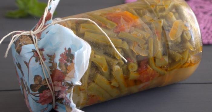 витаминный салат с бобовыми