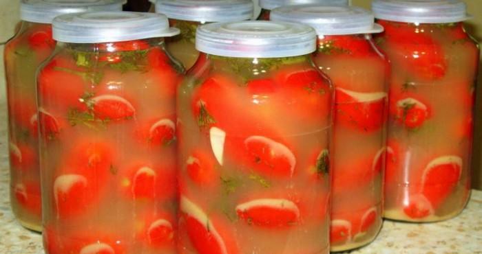 томаты в горчичном рассоле