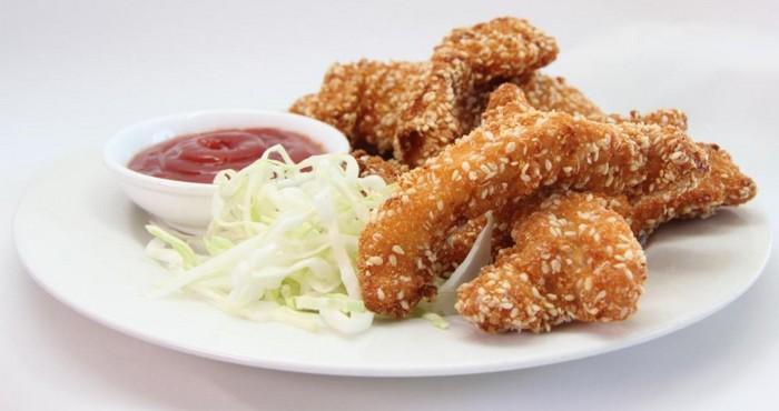 Наггетсы куриные с кунжутом рецепт в домашних условиях