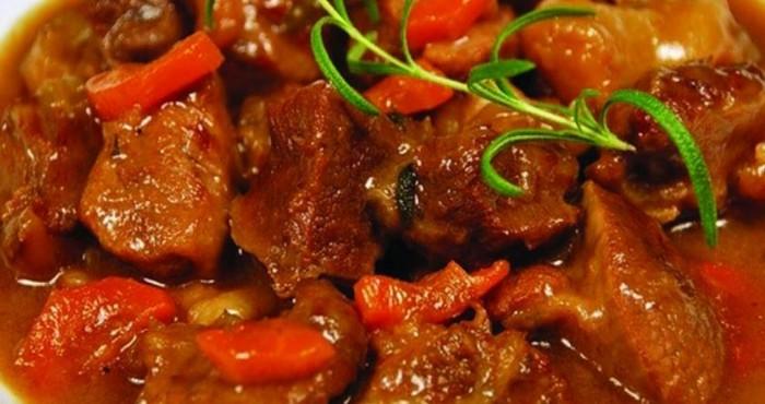 сытное и острое мясное блюдо