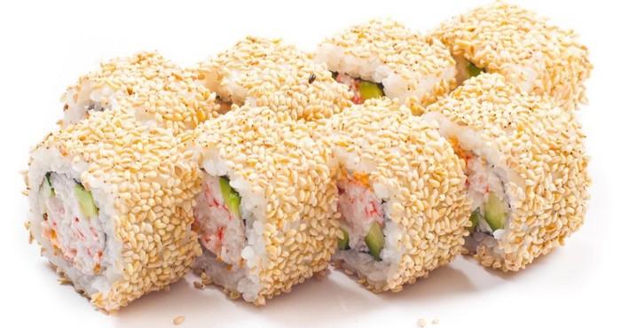 японская закуска с семечками кунжута