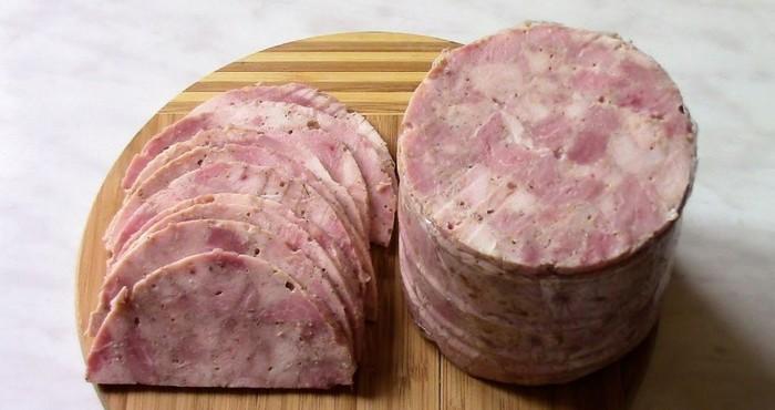 ароматная ветчина из свинины