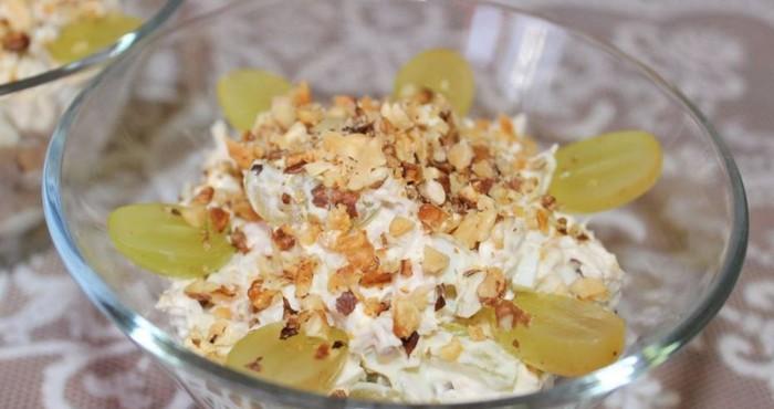нежный новогодний салат