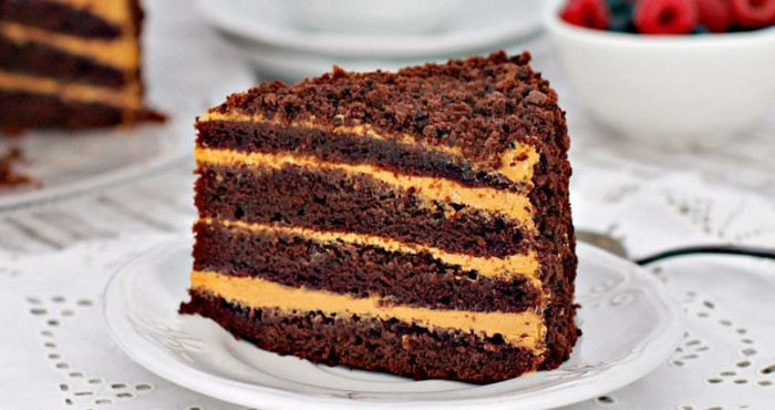 Торт «Чёрный принц» на сгущенном молоке