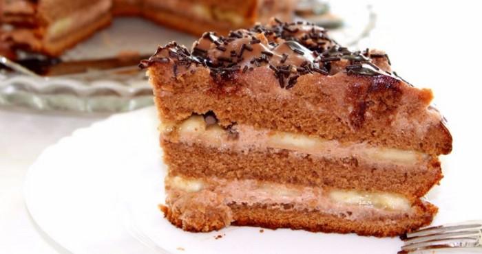 простой торт «Чёрный принц» с вареньем