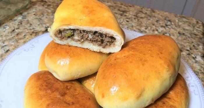 ароматные пирожки с мясом