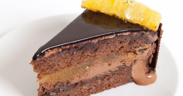торт с желатином и суфле