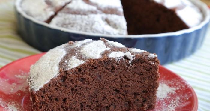 ароматный шоколадный бисквит