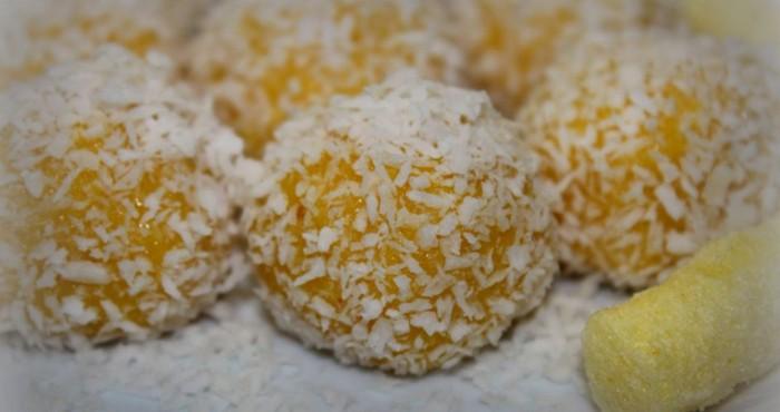 сладкие шарики из кукурузных палочек