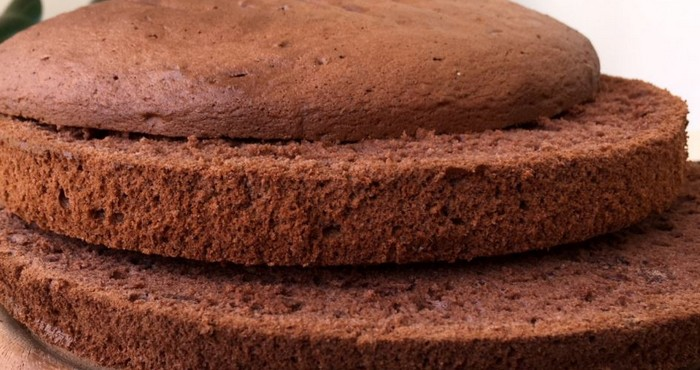 шоколадные бисквитные коржи