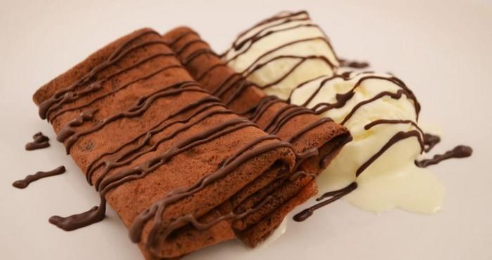 вкусное шоколадное лакомство