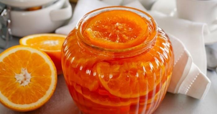 варенье из апельсинов кольцами