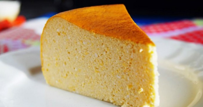 воздушный десерт из тыквы