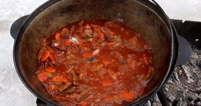 Азу по-татарски — приготовим по традиционным рецептам