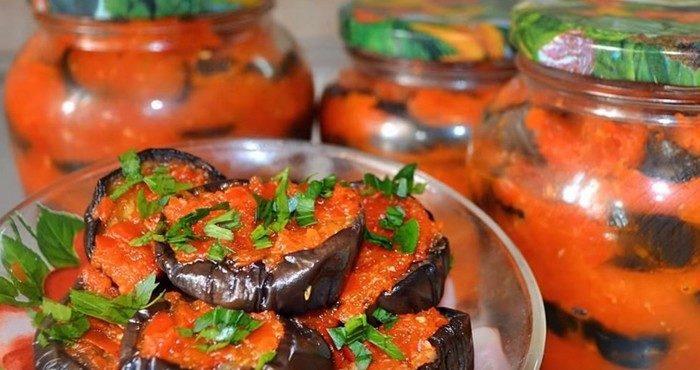 Баклажаны в аджике – рецепты кавказской закуски на зиму