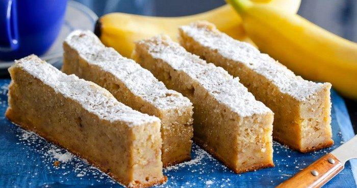 Пошаговые рецепты бананового пирога в мультиварке