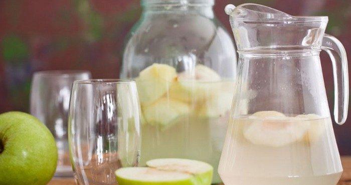 Домашние рецепты компотов из яблок на зиму