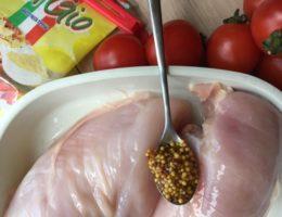 Филе цыпленка, приготовленное по итальянскому рецепту