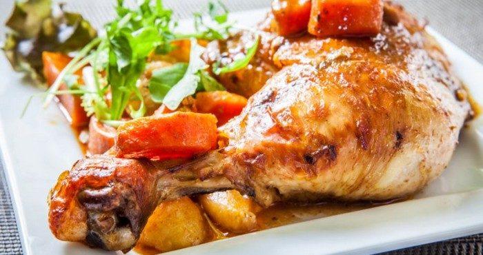 Калорийность запеченной картошки с куриными голенями
