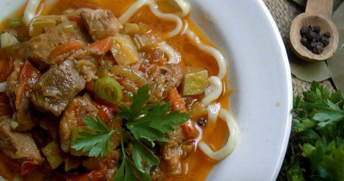 Лагман узбекский – готовим национальное блюдо Средней Азии