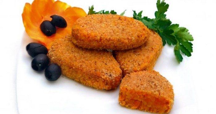 Диетические рецепты постных морковных котлет