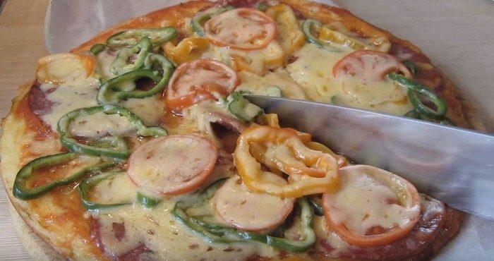 Лучшие рецепты домашней пиццы на кефире