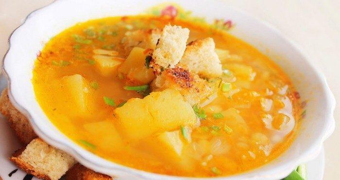 Как сварить постный гороховый суп на обед