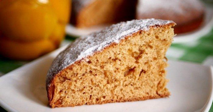 Простые рецепты постного пирога с вареньем